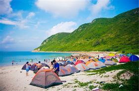 深圳三门岛户外拓展训练、海岛拓展训练一天方案